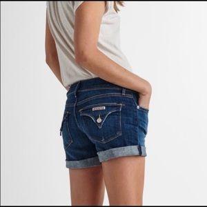 Hudson Hampton rolled cuff jean shorts